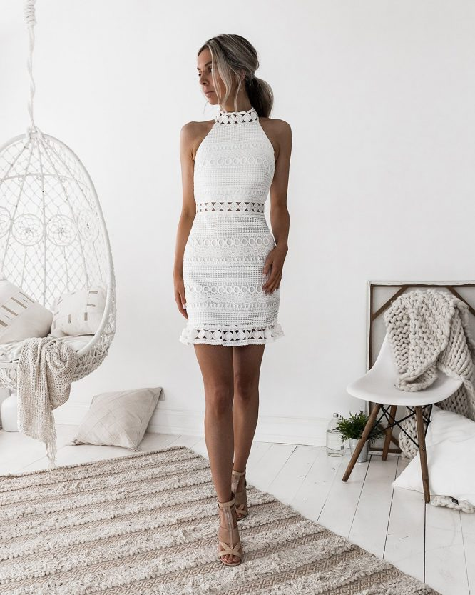 Rivers Dress White - Two Sisters The Label