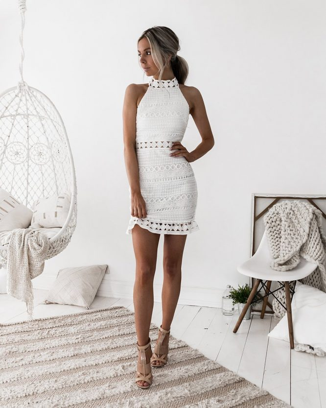 Rivers Dress White - Two Sisters The Label 3