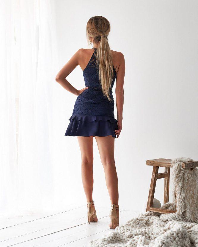 Mika Dress Navy b