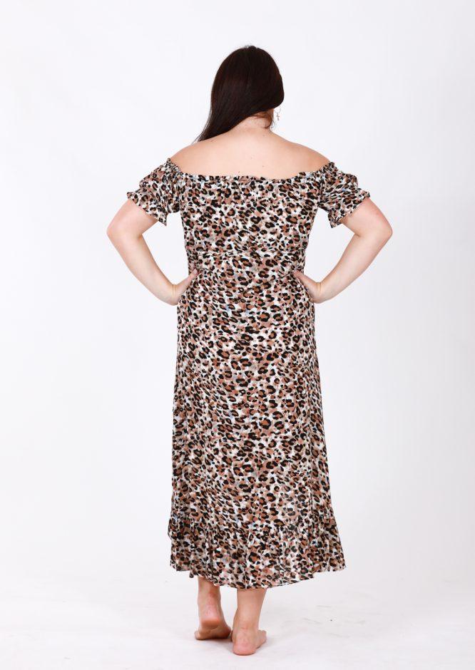 Safari Off The Shoulder Dress lb