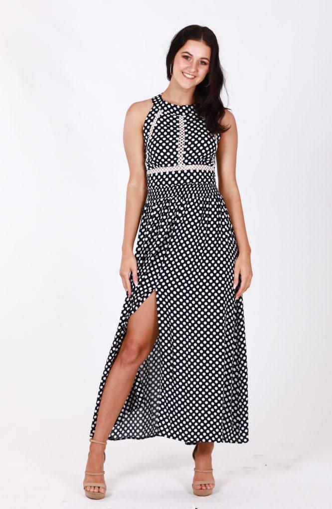 Nefeli Maxi Dress -Polka Dot