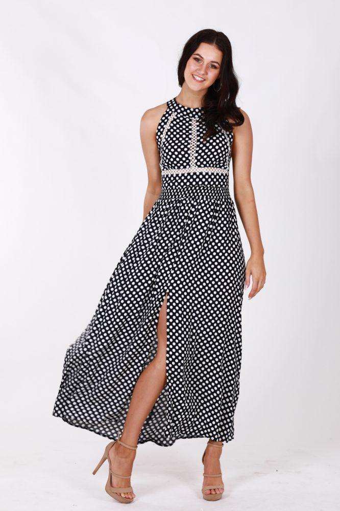 Nefeli Maxi Dress -Polka Dot 2