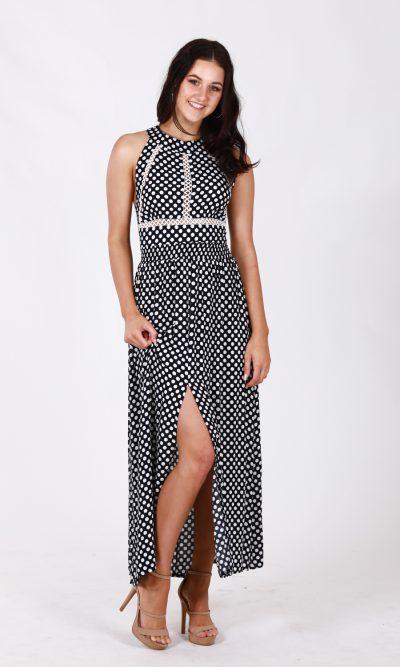 Nefeli Maxi Dress -Polka Dot 3
