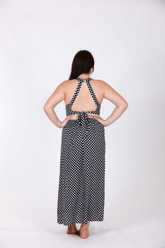 Nefeli Maxi Dress -Polka Dot 9