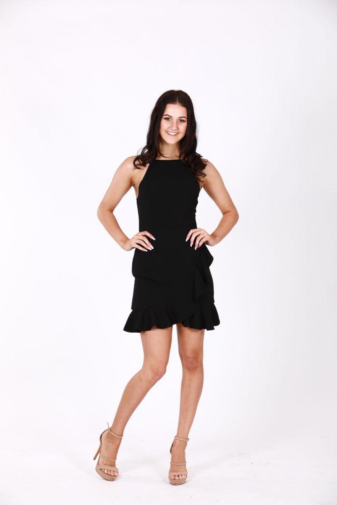 Anne-Marie Little Black Dress