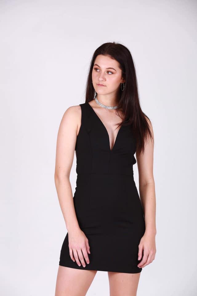 Ophelia Dress Black