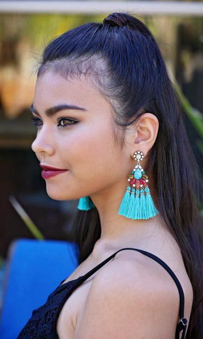 Atlantis Tassel Earring