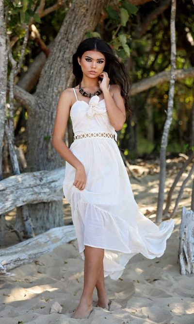 Greek Goddess Maxi Dress
