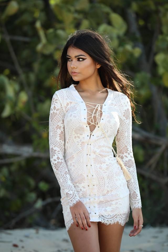 Untie Me Lace Dress