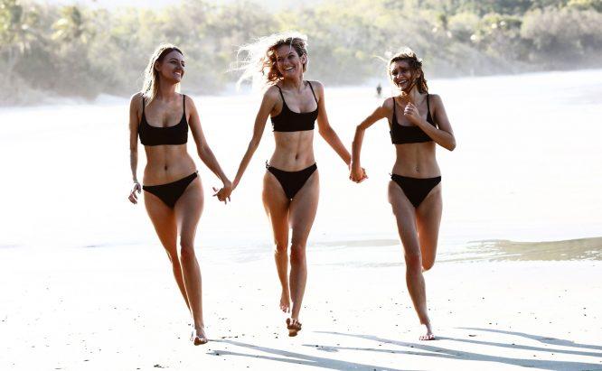 Chain Reaction Bikini beach