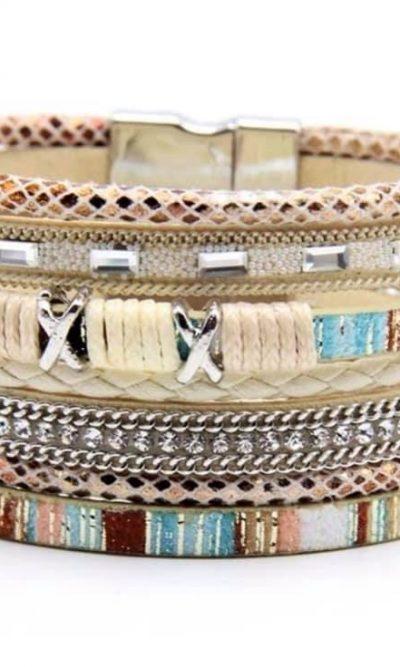 Coachella Cuff Bracelet sand