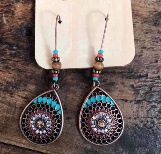 Dibora Cleopatra Bohemia Drop Earrings