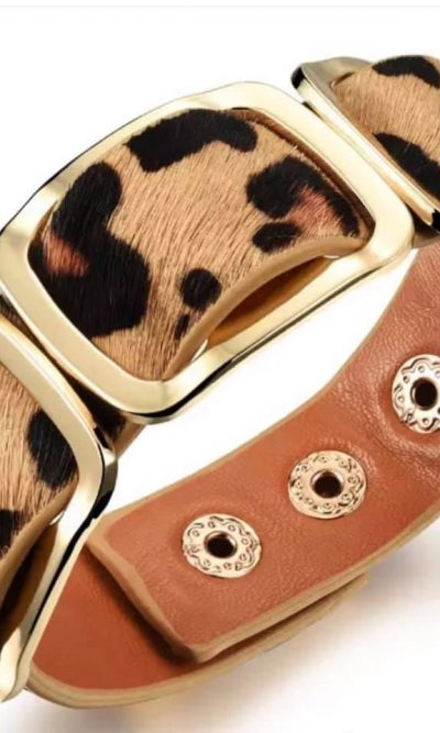 Safari Nights Leopard Bracelet