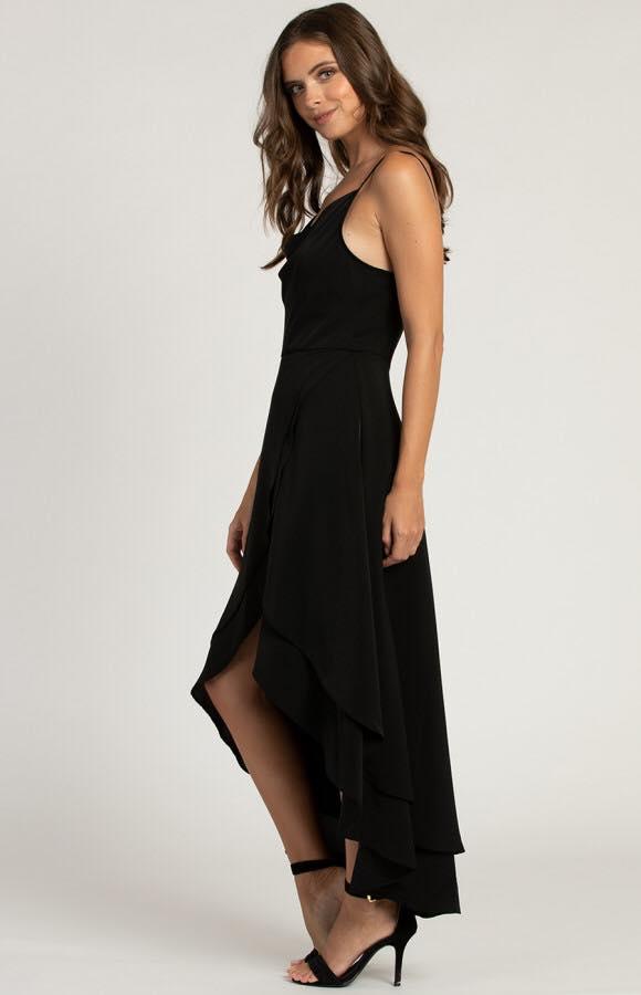 Avalon Cowl Neck Formal Dress