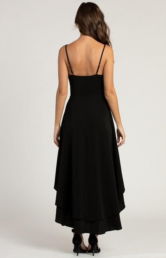 Avalon Cowl Neck Formal Dress back