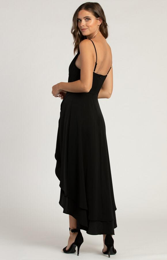 Avalon Cowl Neck Formal Dress 3