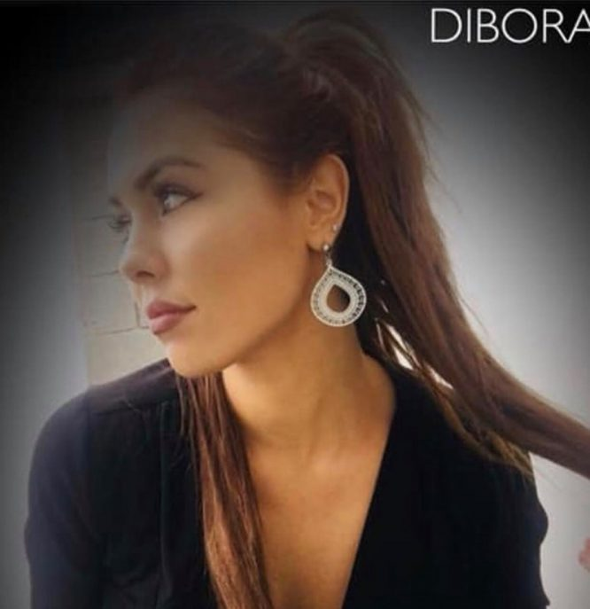 Water Drop Stainless Steel Earrings - Dibora