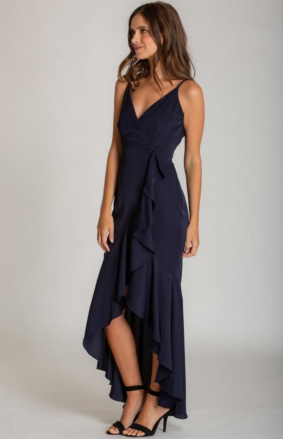 Ivana V-Neckline Formal Dress