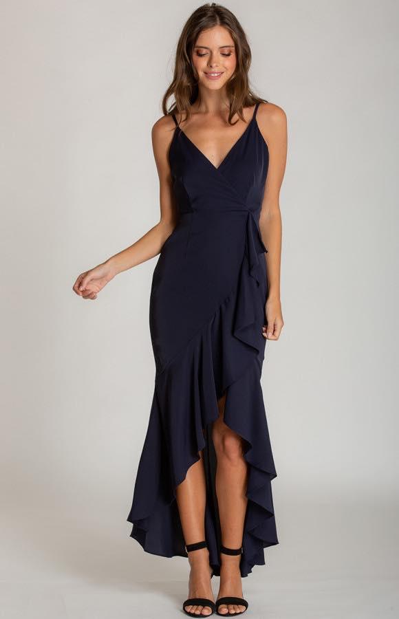 Ivana V-Neckline Formal Dress f