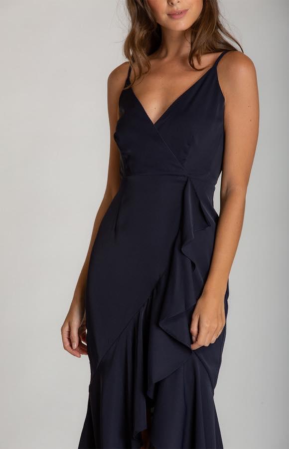 Ivana V-Neckline Formal Dress2