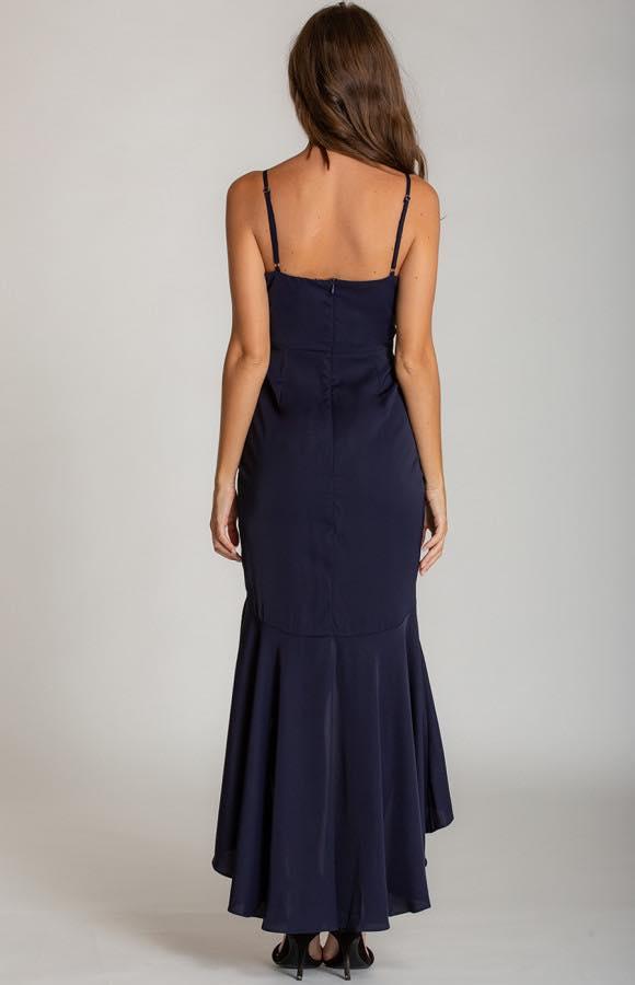 Ivana V-Neckline Formal Dress5