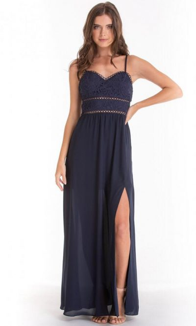 Jolene Lace Top Maxi Dress2