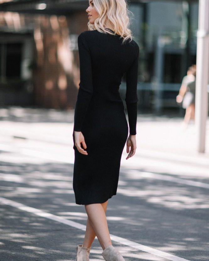 Becky Dress Black