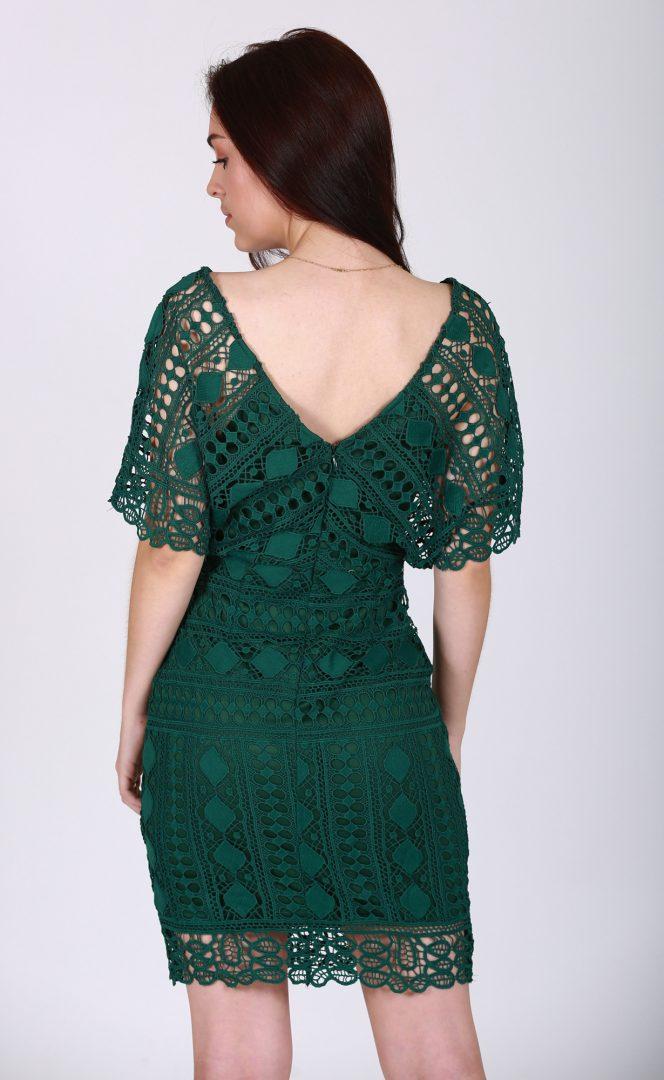 Jadie Lace Dress Back