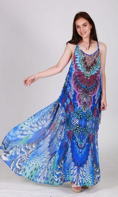 Oceania Kaftan Maxi Dress flick