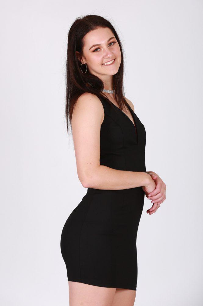 Ophelia Dress Black 2