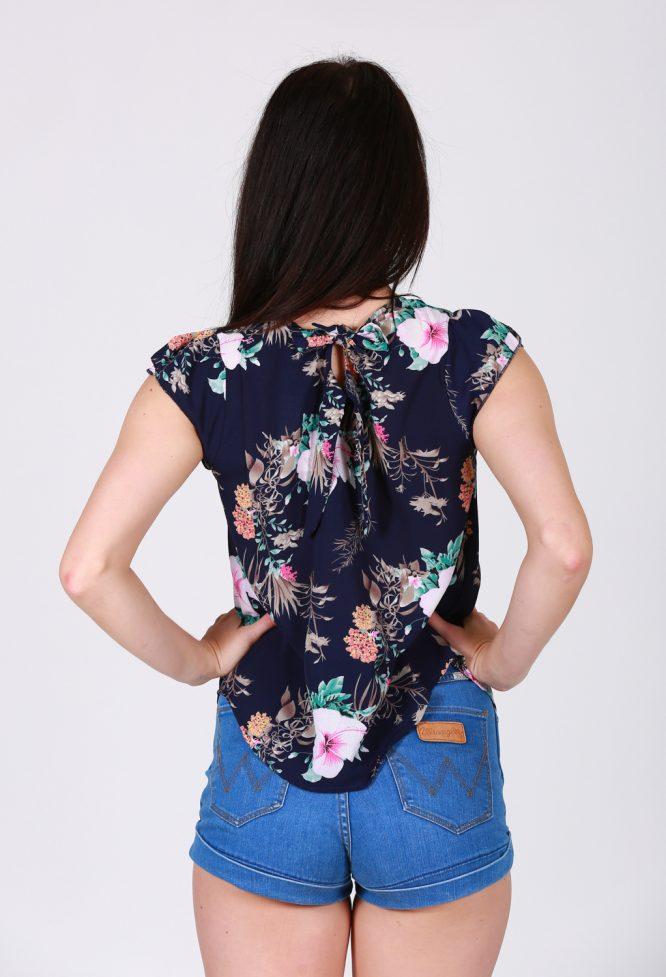 Tenaya Floral Tops back