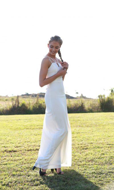 Luxe Maxi Dress white