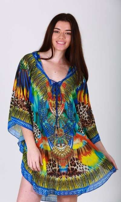 Abstract Kaftan front