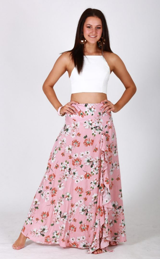 pink blossom maxi mona young