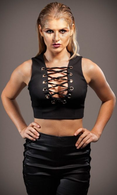 Laced Lover Eyelet Crop- Black Or White
