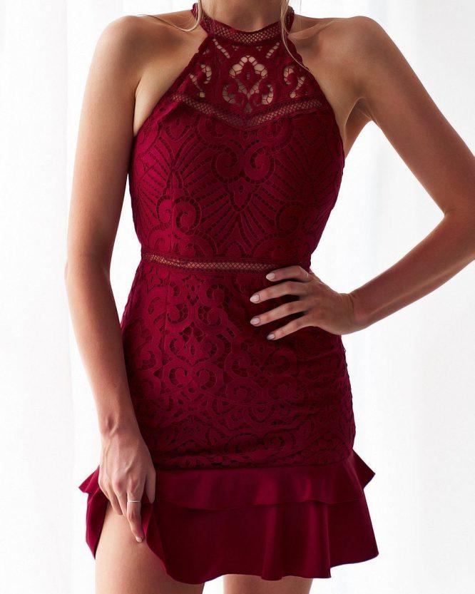 Mika Dress Red c