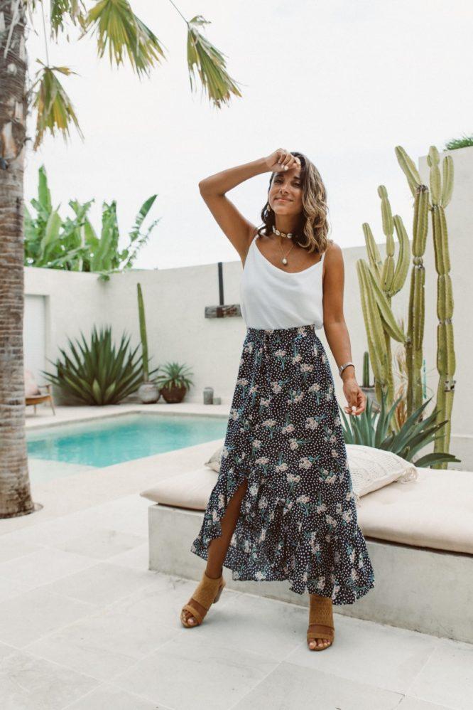 Amalfi Maxi Skirt
