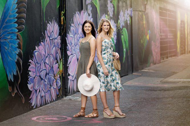 Shangri-La Button Through Dress - Floral 2