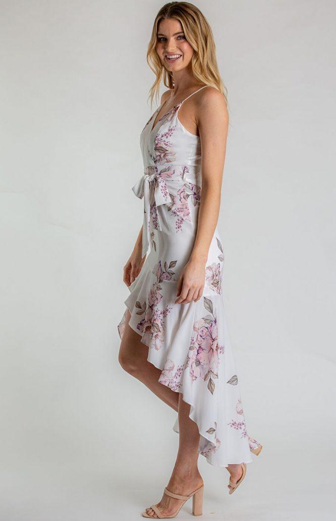 Belladonna Floral Dress side