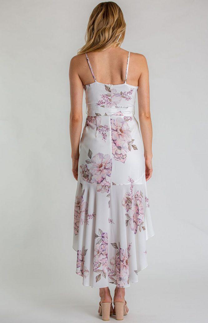 Belladonna Floral Dress back