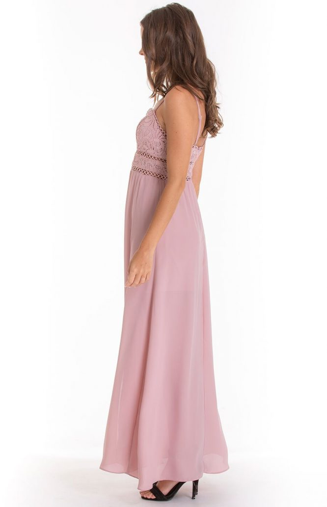Jolene Lace Top Maxi side