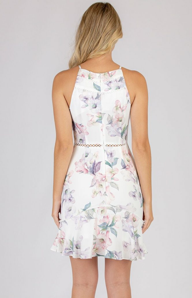 Raylene Floral Dress back