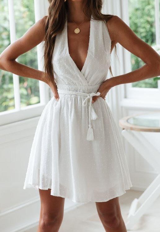 Cross Your Heart Dress