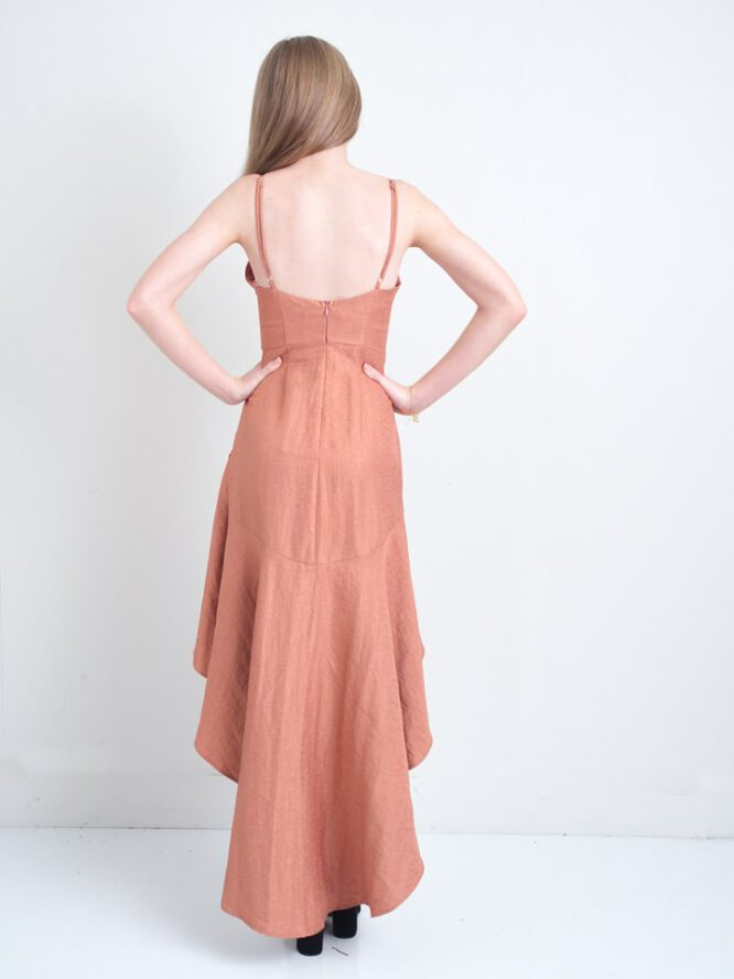 Kensington Copper dress 2