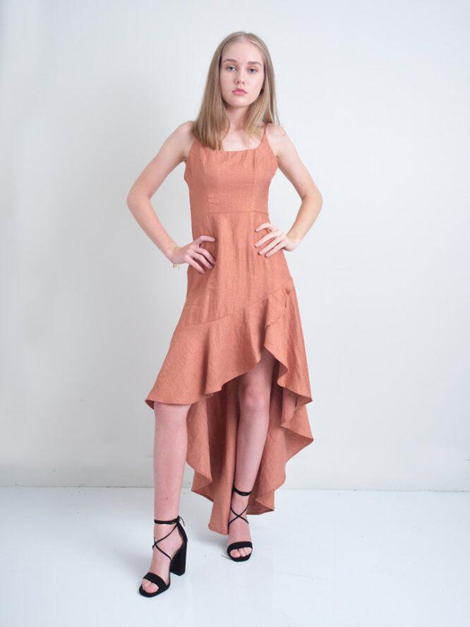 Kensington Copper dress3