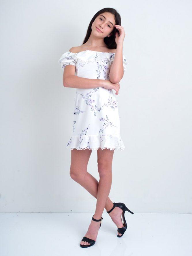 Francine Floral Mini