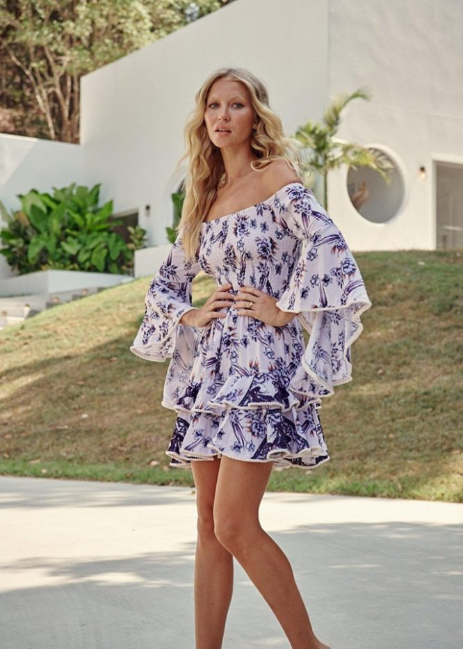 Sienna Print Primrose Dress 5