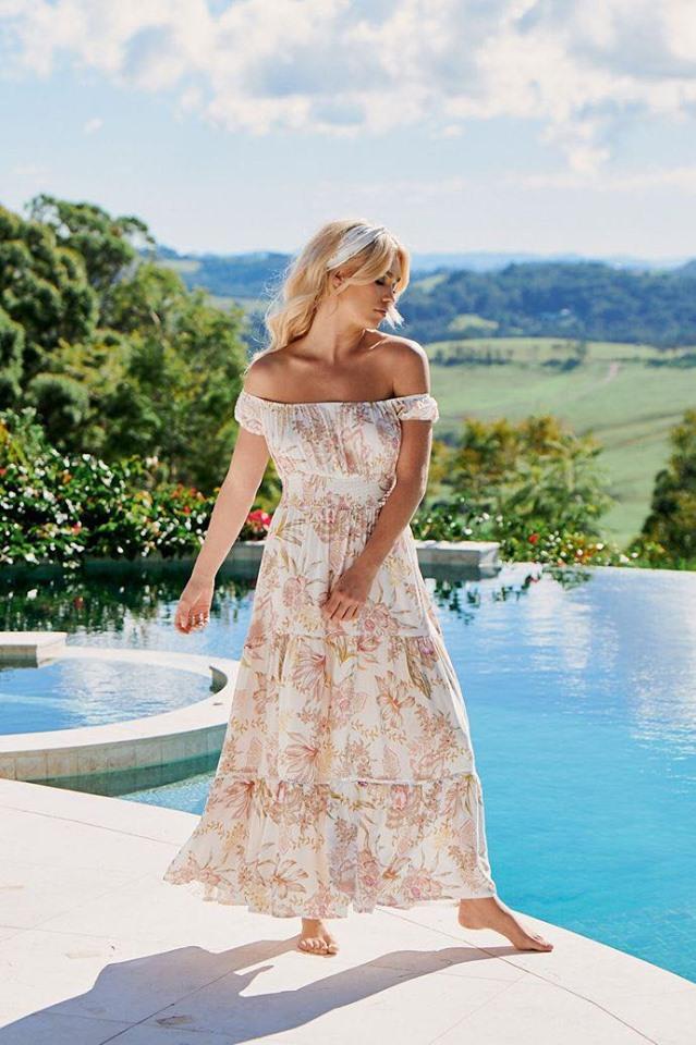 Sidney Print Halluana Dress