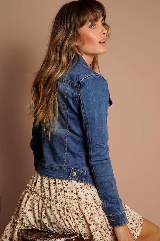 Daya Denim Jacket - Refuge back