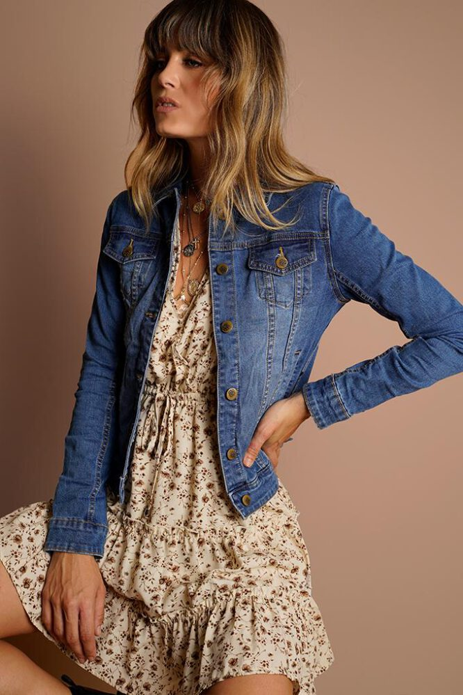 Daya Denim Jacket - Refuge front